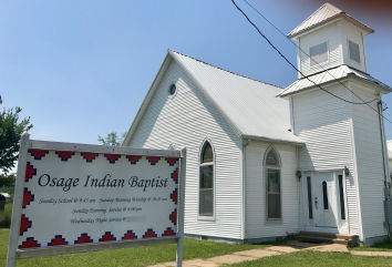Osage Indian Baptist Church  P.O. Box 1225 Pawhuska, Oklahoma 74056 Email:  skohnle@sbcglobal.net  Pastor: Scott Kohnle