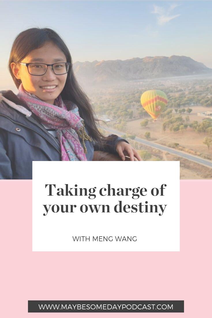 Maybe Someday Podcast with Meng Wang