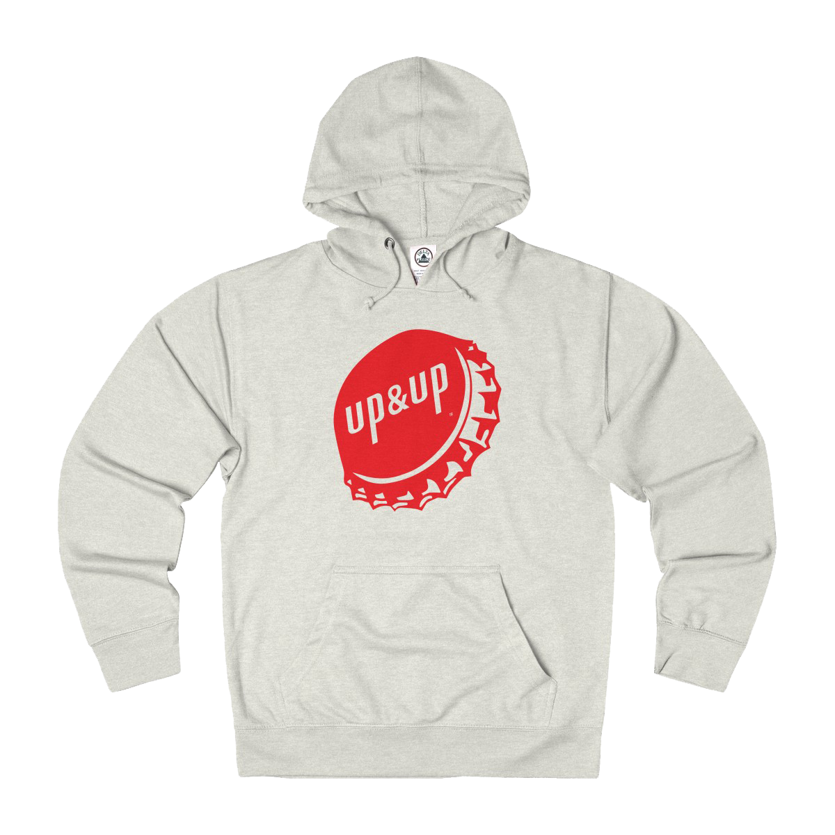 Up&Up Bottle Cap French Terry Hoodie - Red