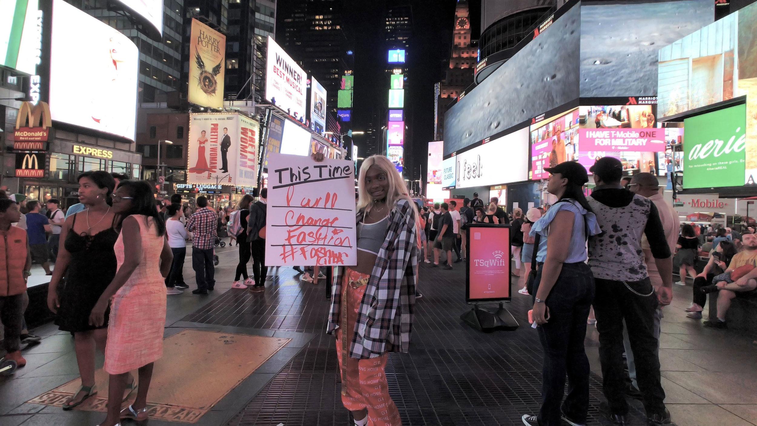 """This Time I will change fashion"" | Kajan | United States"