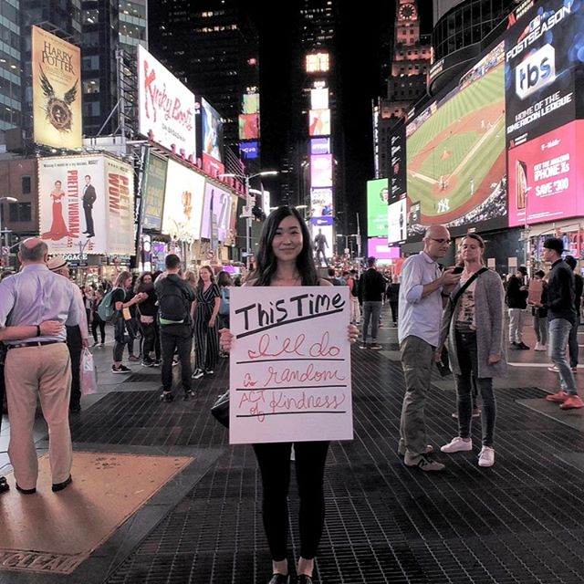"⏰ | This Time Initiative | ""This Time I'll do a random act of kindness"" - Michelle 🇺🇸 