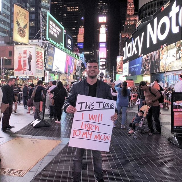 "⏰ | This Time Initiative | ""This Time I will listen to my mom"" - Juan 🇨🇴 