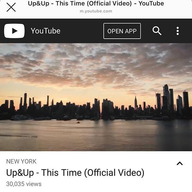 "⏰ | Thank you to everyone who has continued to support our music & the ""This Time"" music video! 30k! 🙏 we greatly appreciate it! LINK IN BIO 