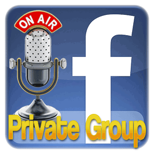 Facebook Podcasting Interviews Publicity Private Group