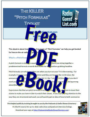 Killer Pitch Formulas Ebook PDF