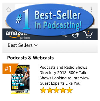 #1 Best-selling Podcast and Radio Shows Directory Book