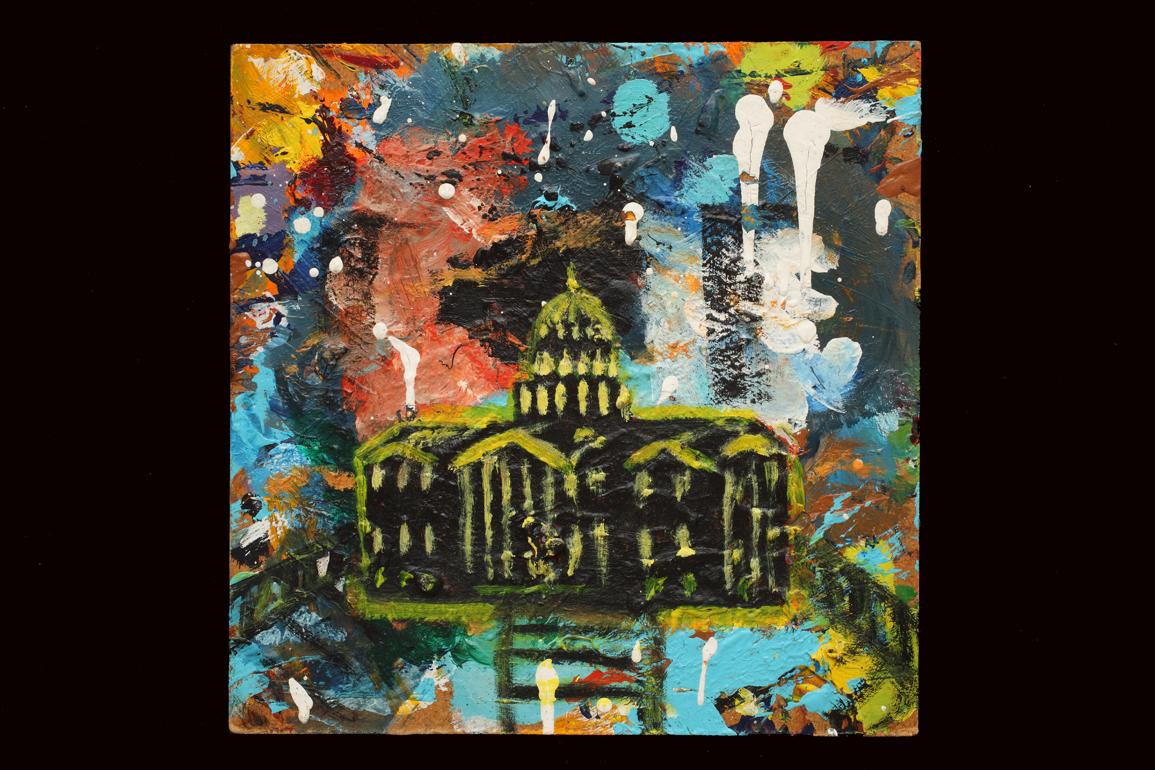 The Capitol - 10 x 10 Acrylic