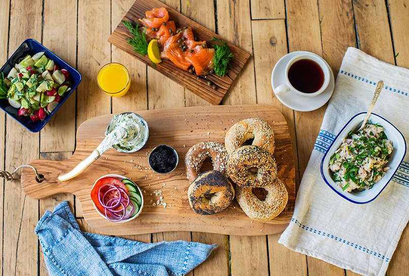 Where to Get the World's Best Bagels. The Answer Might Surprise You.   Conde Nast Traveler   Photos by Daniel Krieger