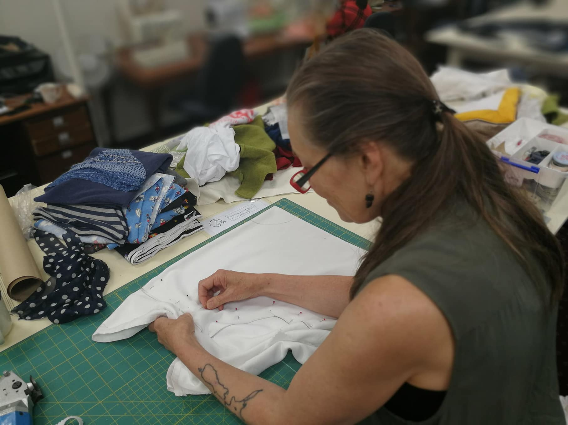 Vinnies Re Sew is an up-cycling, sustainable sewing initiative focused on re-purposing the textiles we can't sell in Vinnies Op Shops