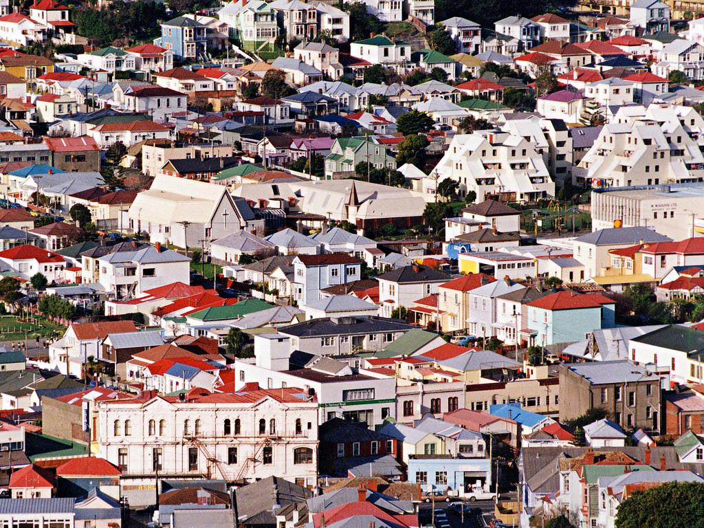 Photo: Newtown Wellington NZ 1991, by Derek Smith and Maclean Barke