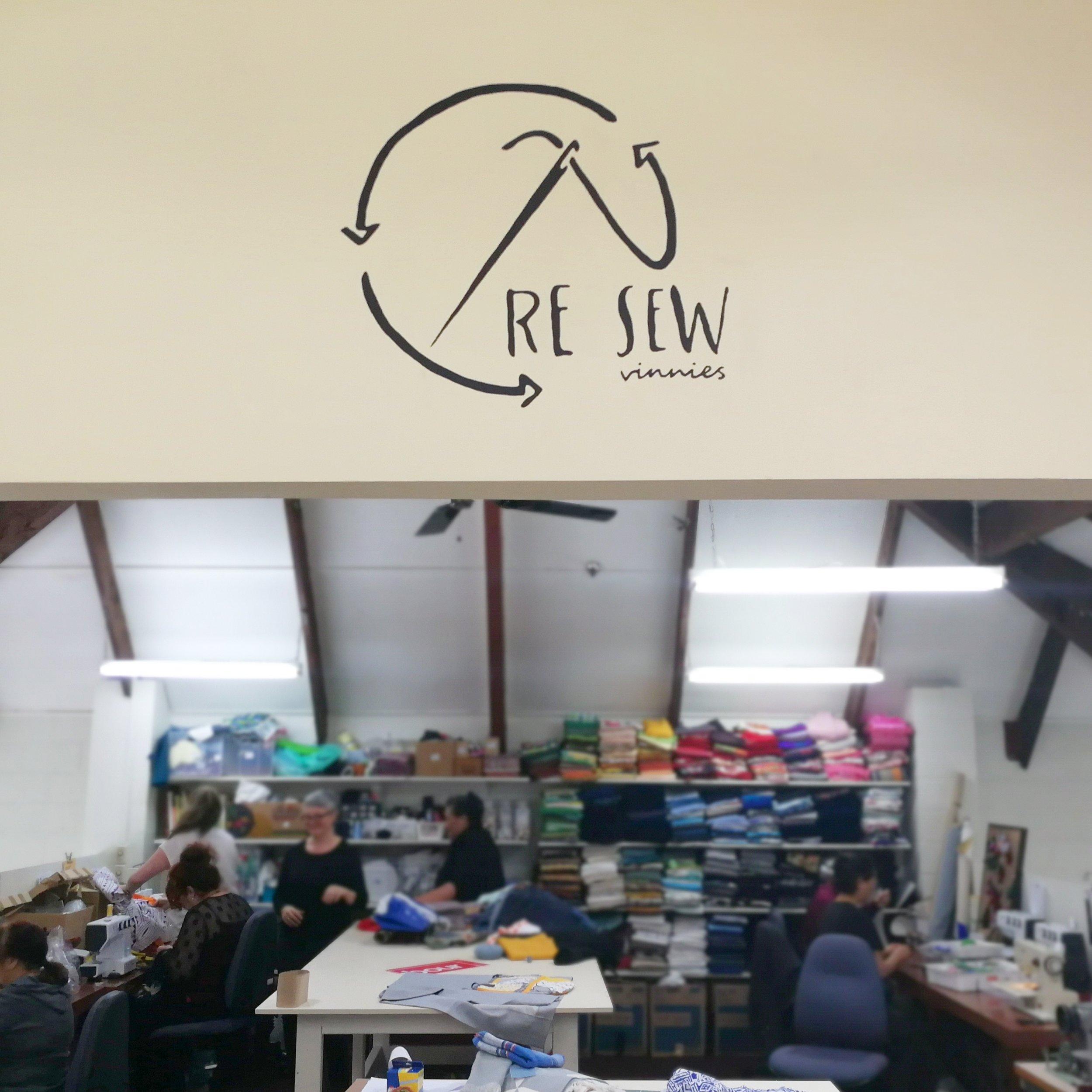 The Re Sew studio.