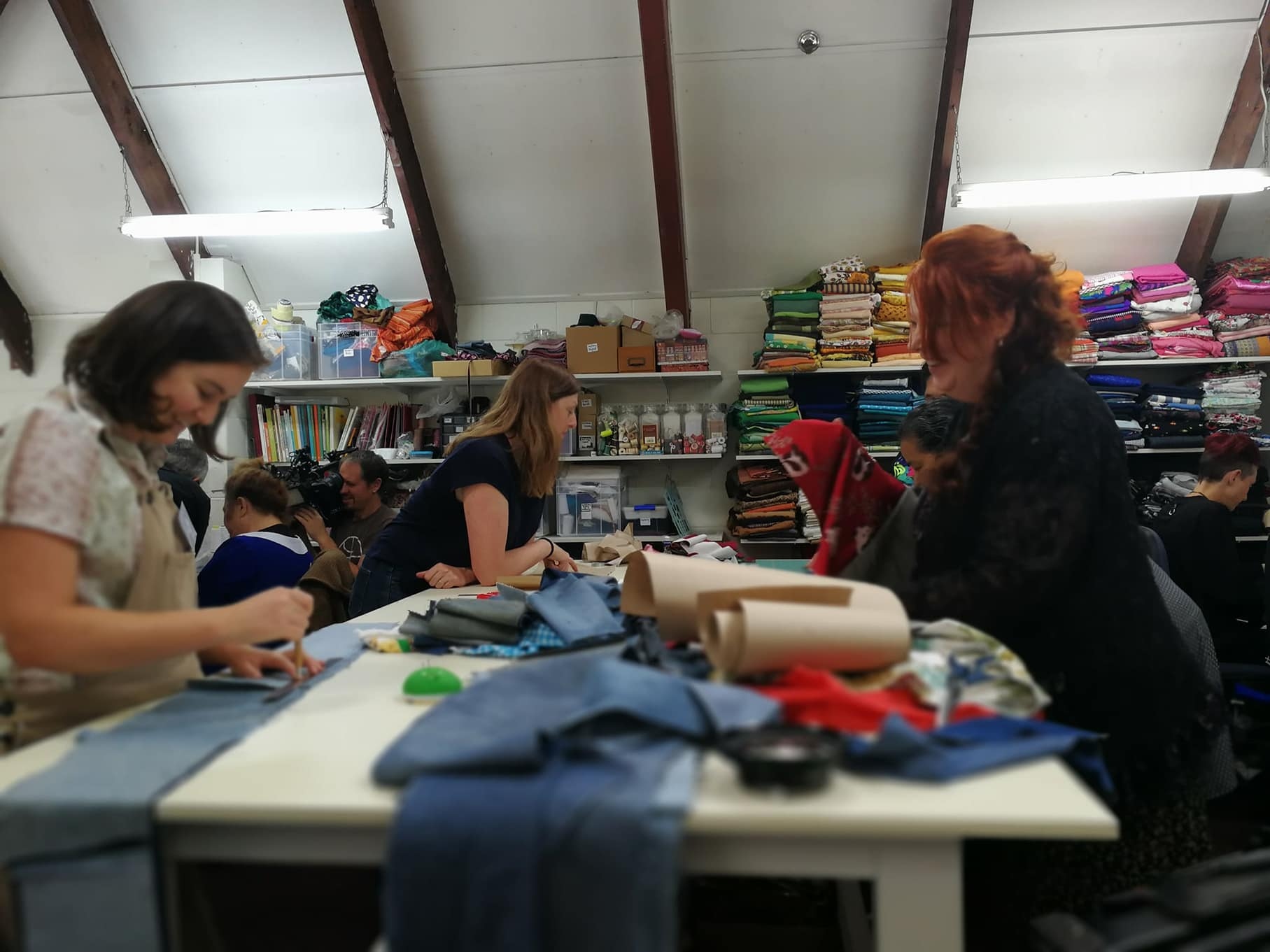 Inclusive, sustainable sewing studio -