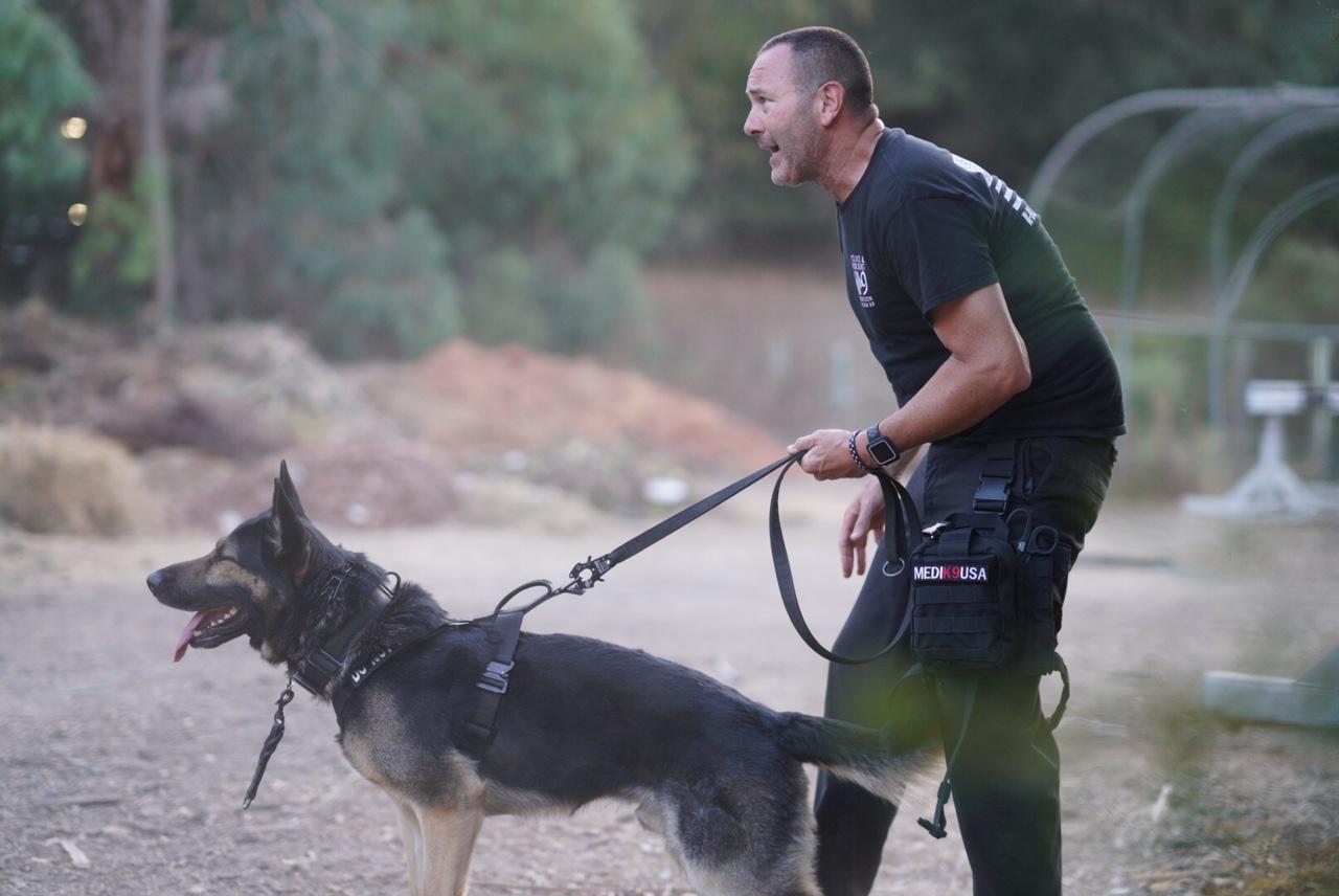 9/18/18 - K9 Xoro of the Menlo Park Police Department, Ca