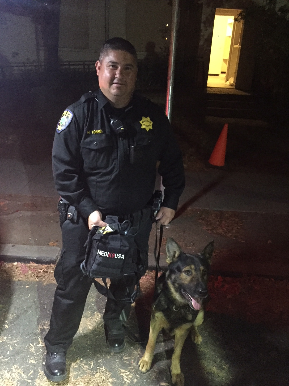 9/18/18 - K9 Hardy of the Menlo Park Police Department, Ca