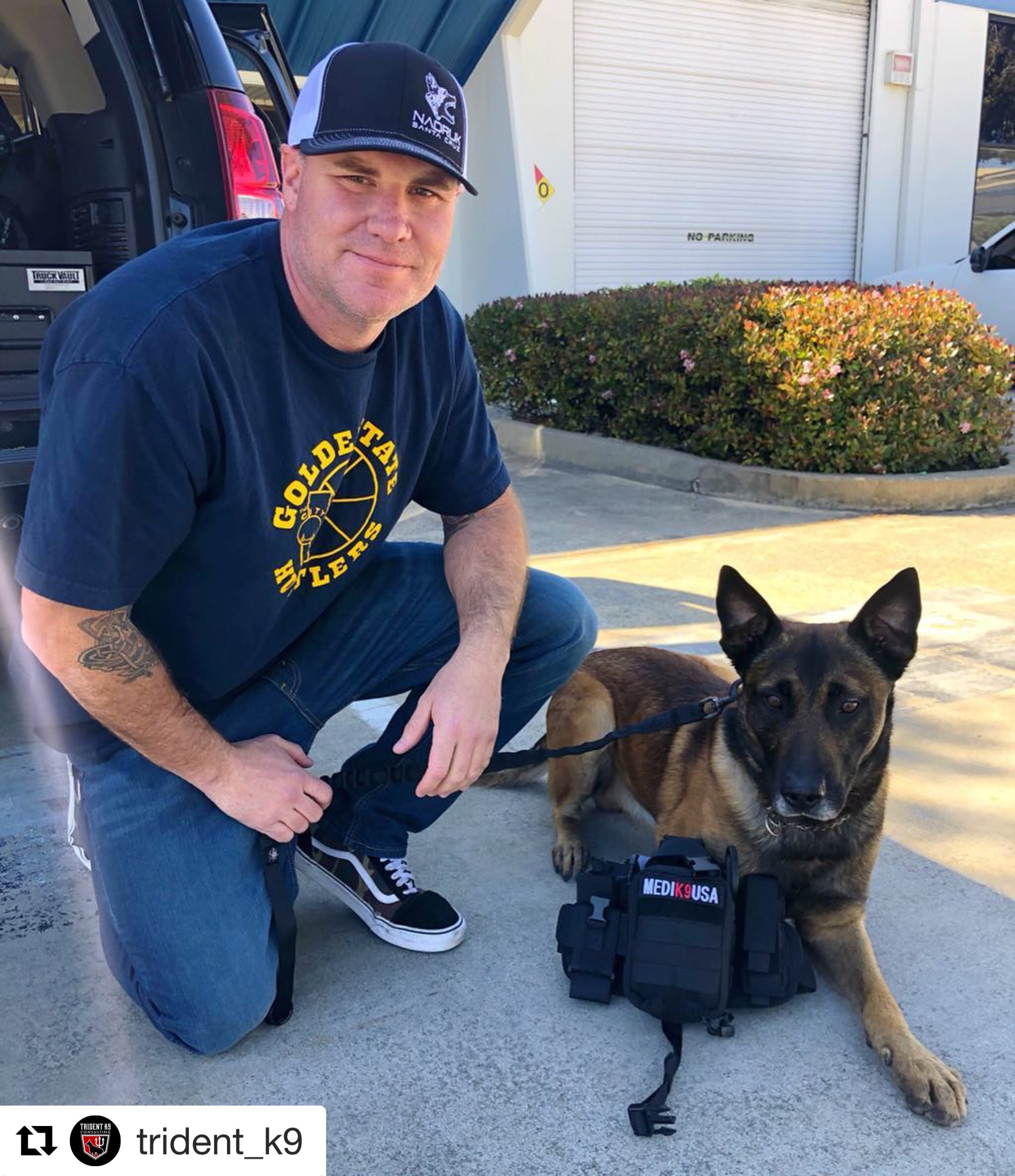 4/10/19  - K9 Diesel of the South San Francisco Police Department, Ca