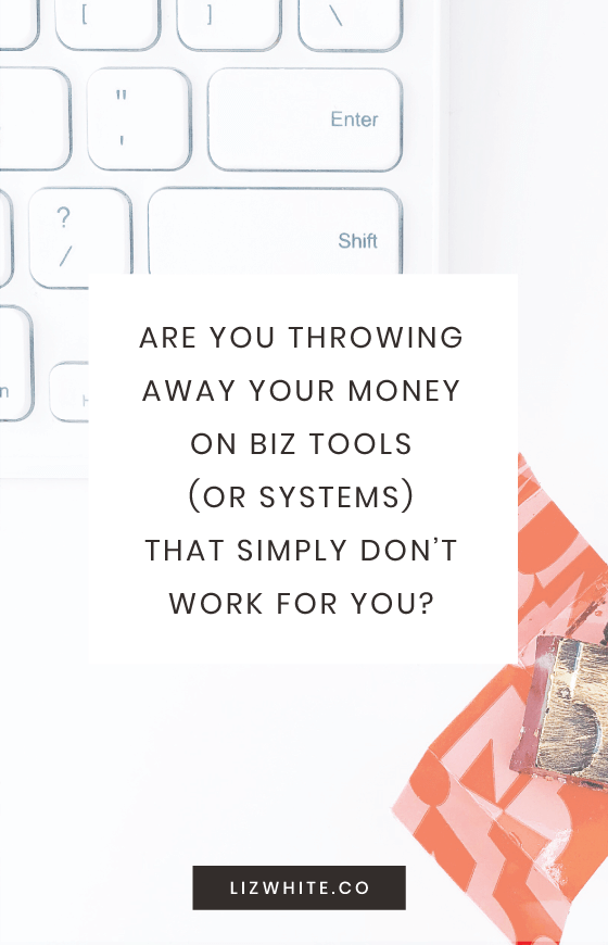 Finding the perfect business tools can be expensive. Make sure that what you're doing for your business is productive and a good investment. My number one business tip for how to do that is to use the Thirty Three Method. This is going to help you audit your business decisions (and purchases) as you go… so that the business tools you buy are worth it!