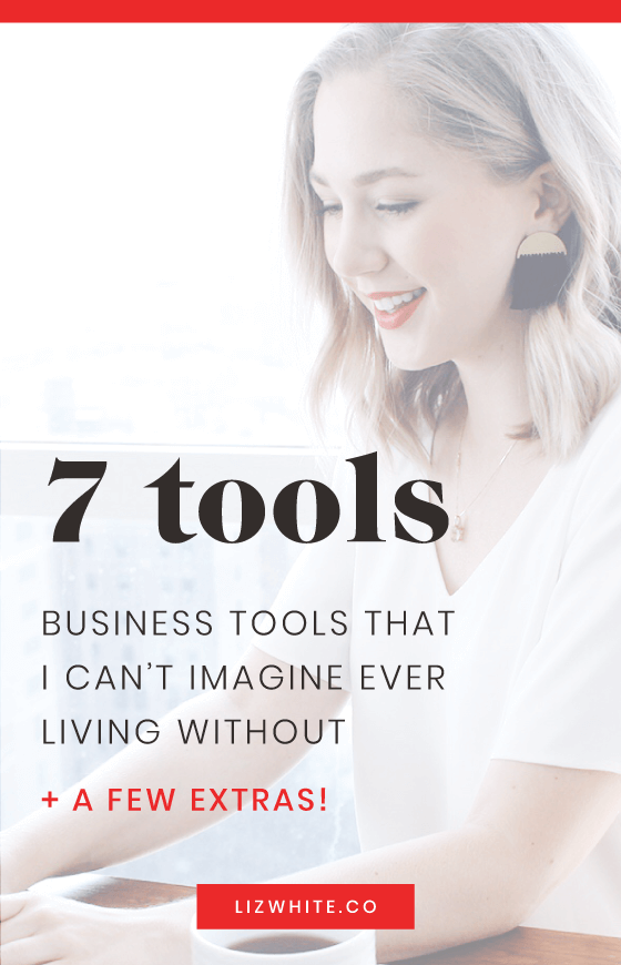 There aren't many tools I consider to be must-haves for my business, but these 7 make the cut. When you're trying to decide on what to invest in, these business tools and resources are a great start.