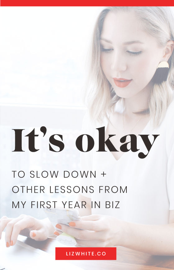 Lessons I've learned in my first year in business.