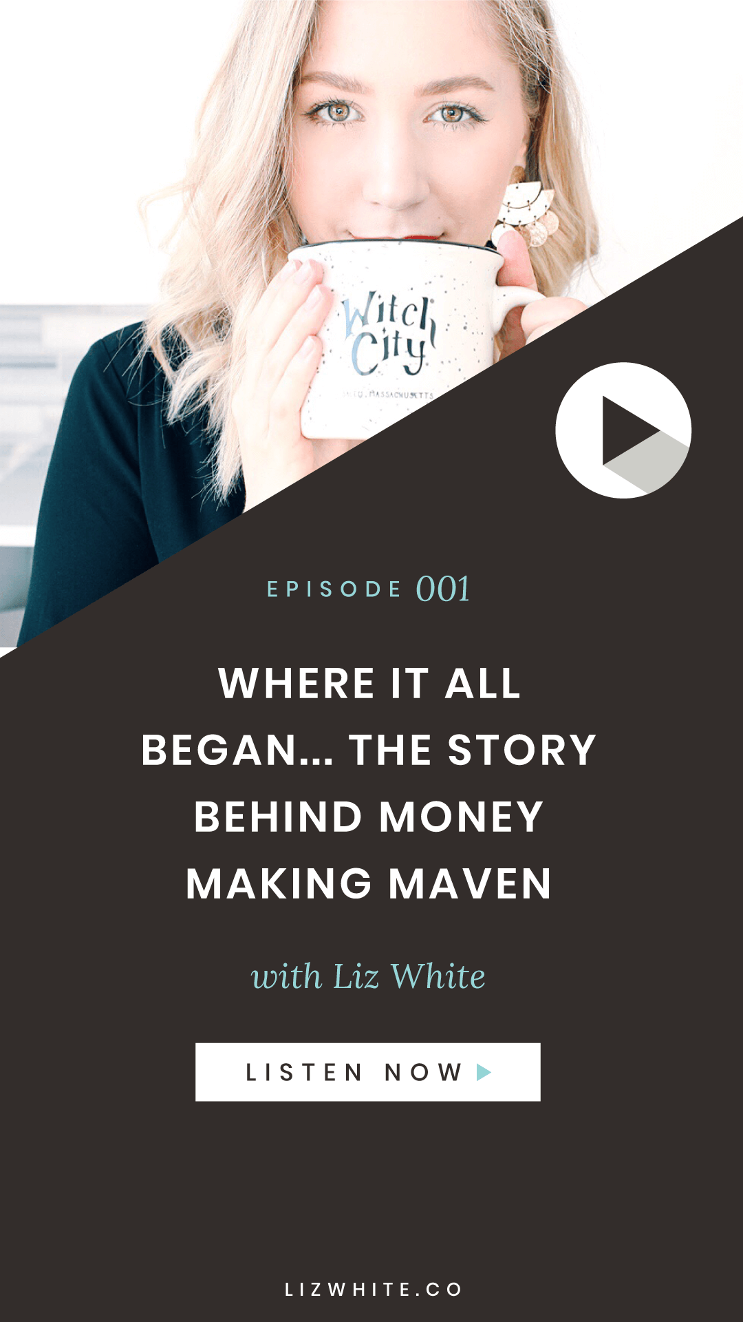 In this weekly podcast, Liz White from lizwhite.co dives in to all things money, mindset, and magic. As a mentor & coach for spiritually minded boss babes, she helps women awaken their inner money making maven, call in the life they truly desire, and run a fully aligned & profitable business. Tune in for tips and stories about business, entrepreneurship as a woman, money mindset, manifestation, law of attraction, and all things woo.