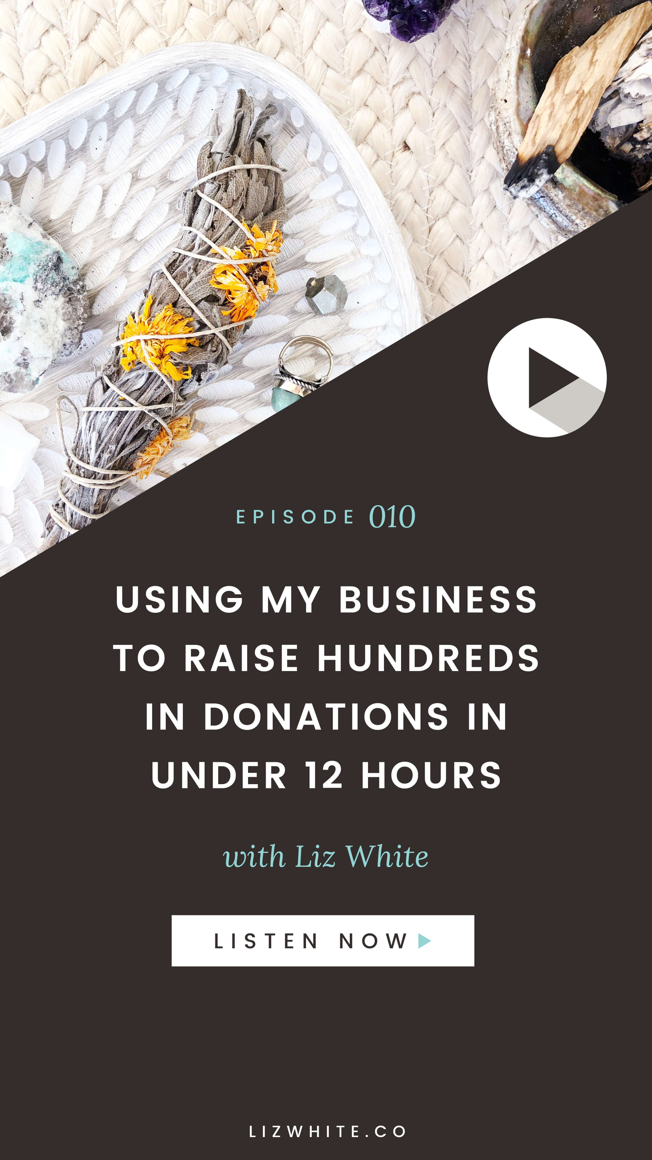 Your ability to create change is only limited by your imagination.  In this Magic Minutes episode I'm sharing how I used my business to raise $672 in under 12 hours.