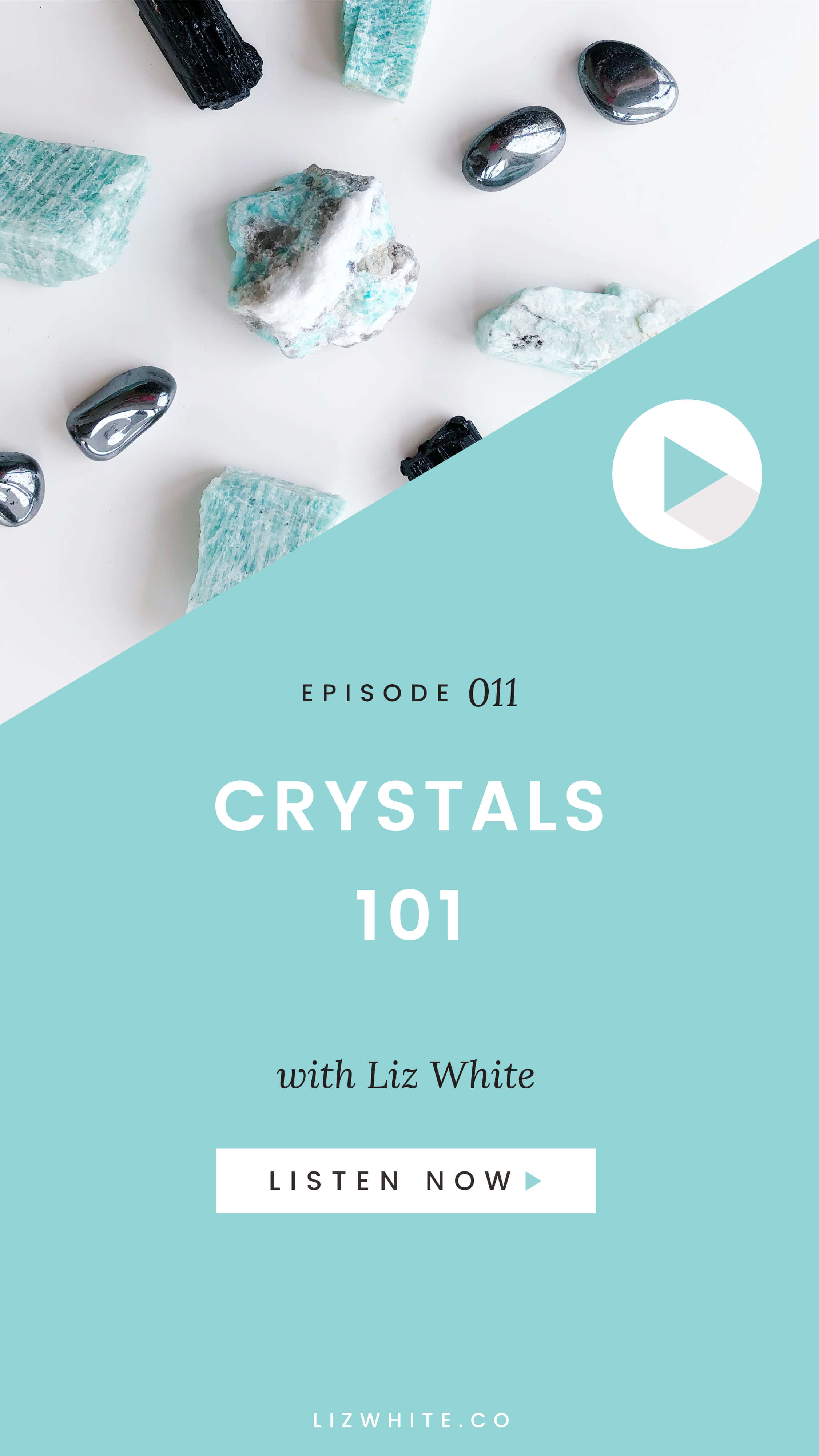 Let's talk crystals. In this episode I'll be walking you through all the basics of crystals and what you need to know when you're ready to start using them.