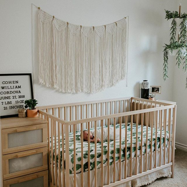I officially want another baby just so I can create a nursery like this. 😍 #camijanephotography