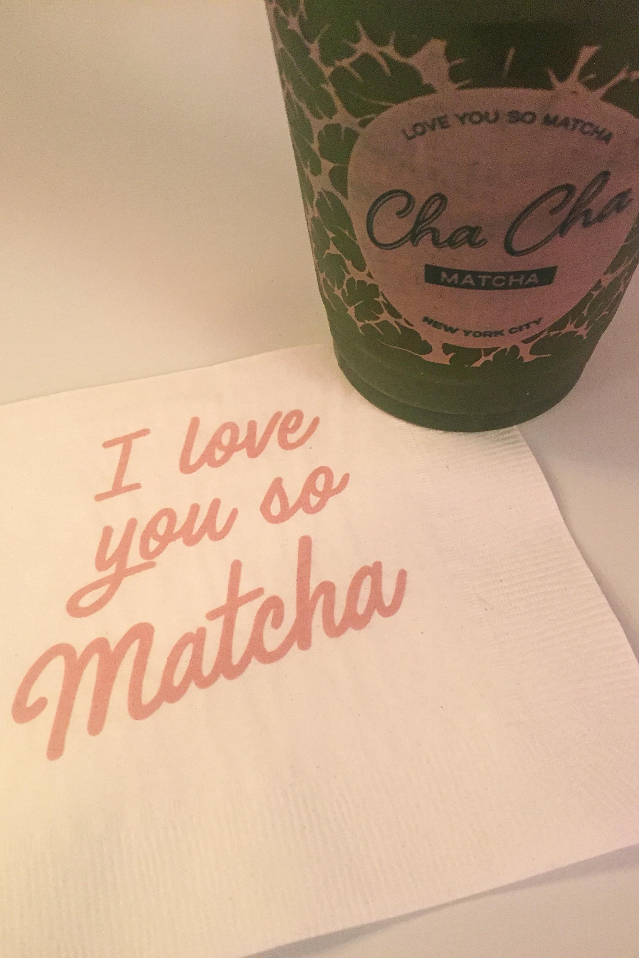 Cha Cha Matcha   www.apinchofserendipity.com