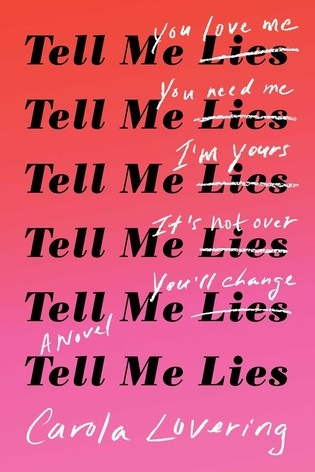 "Tell me lies (Drama Fiction 5/5) - ""Lucy Albright is far from her Long Island upbringing when she arrives on the campus of her small California college, and happy to be hundreds of miles from her mother, whom she's never forgiven for an act of betrayal in her early teen years. Quickly grasping at her fresh start, Lucy embraces college life and all it has to offer—new friends, wild parties, stimulating classes. And then she meets Stephen DeMarco. Charming. Attractive. Complicated. Devastating.Confident and cocksure, Stephen sees something in Lucy that no one else has, and she's quickly seduced by this vision of herself, and the sense of possibility that his attention brings her. Meanwhile, Stephen is determined to forget an incident buried in his past that, if exposed, could ruin him, and his single-minded drive for success extends to winning, and keeping, Lucy's heart.Alternating between Lucy's and Stephen's voices, Tell Me Liesfollows their connection through college and post-college life in New York City. Deep down, Lucy knows she has to acknowledge the truth about Stephen. But before she can free herself from this addicting entanglement, she must confront and heal her relationship with her mother—or risk losing herself in a delusion about what it truly means to love.""This book felt like something that was written only for me. I've struggled with almost everything Lucy struggled with and have dated more than one Stephen. I will admit that both characters are deeply unlikeable and some readers couldn't relate to this book - that's the only negative reviews I've seen about it. However, if you've ever been in a toxic relationship then this is a MUST READ. It'll be the book I'll be buying for all my girlfriends as gifts for the foreseeable future."