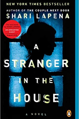 A Stranger in the HOuse - Thriller, Released May 29, 2018Plot: Karen and Tom Trupp are happy. One day Karen gets in a car accident and can't remember what happened or why she was in the car in the first place. Once she returns home she realizes nothing is quite right and someone must have been in her house.My thoughts: Lapena is a must-read author for me and I really enjoyed her past two thrillers, An Unknown Guest and The Couple Next Door. I figured summer would be a good time to finish all the books she has released before her new one comes out on July 30.