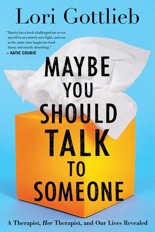 maybe you should talk to someone - Self-Improvement, Released April 2, 2019Plot: From a New York Times best-selling author, psychotherapist, and national advice columnist, a hilarious, thought-provoking, and surprising new book that takes us behind the scenes of a therapist's world--where her patients are looking for answers (and so is she).My thoughts: I've started listening to this book on audiobook and it's forced me to take a step back and really evaluate therapy. Mental health is really taboo and Gottlieb approaches the subject in a humorous and entertaining way. I love it thus far!