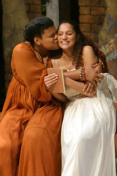 As Juliet in Romeo & Juliet