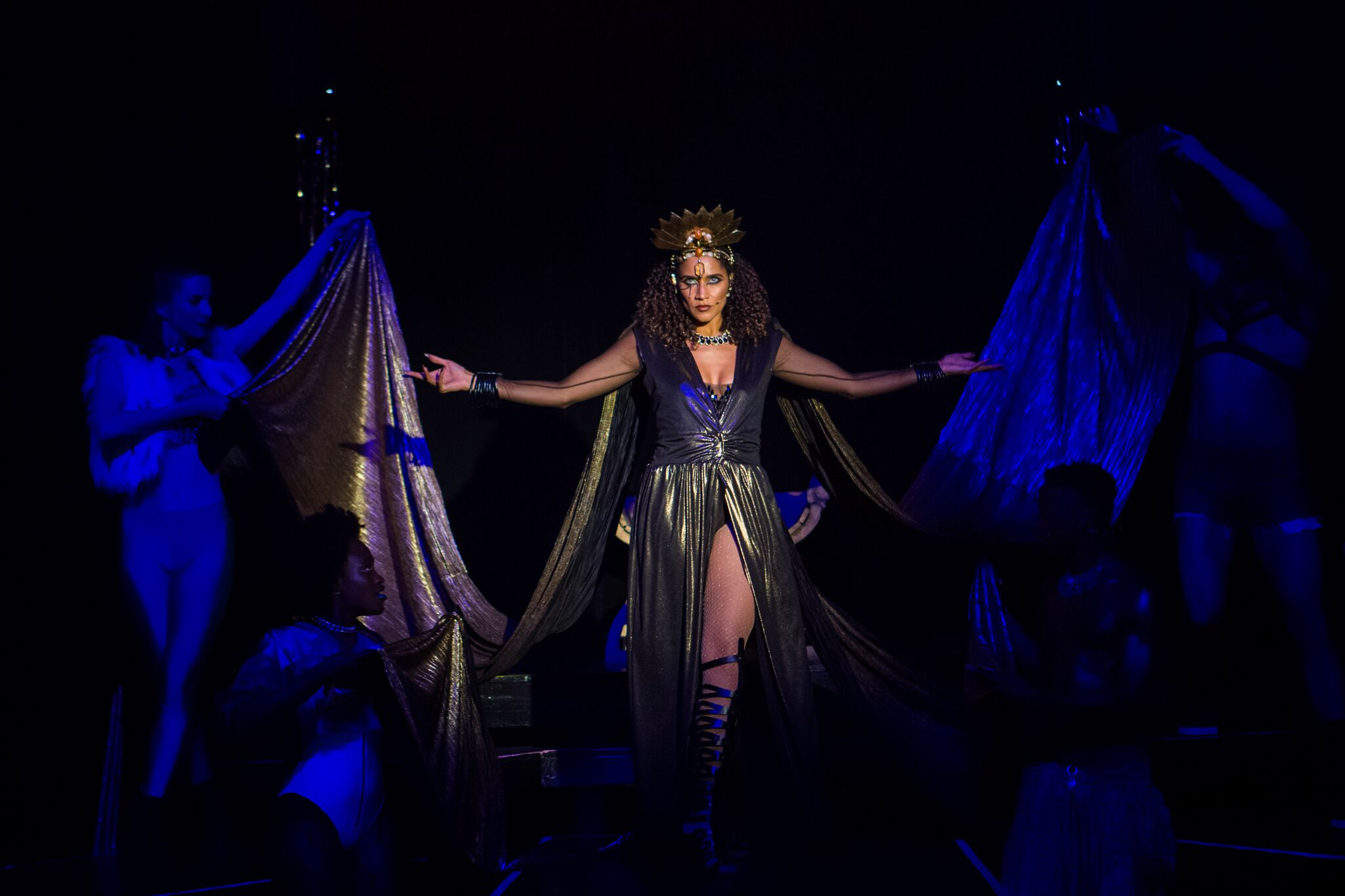 As Cleopatra in Cleopatra: The New Pop Experience