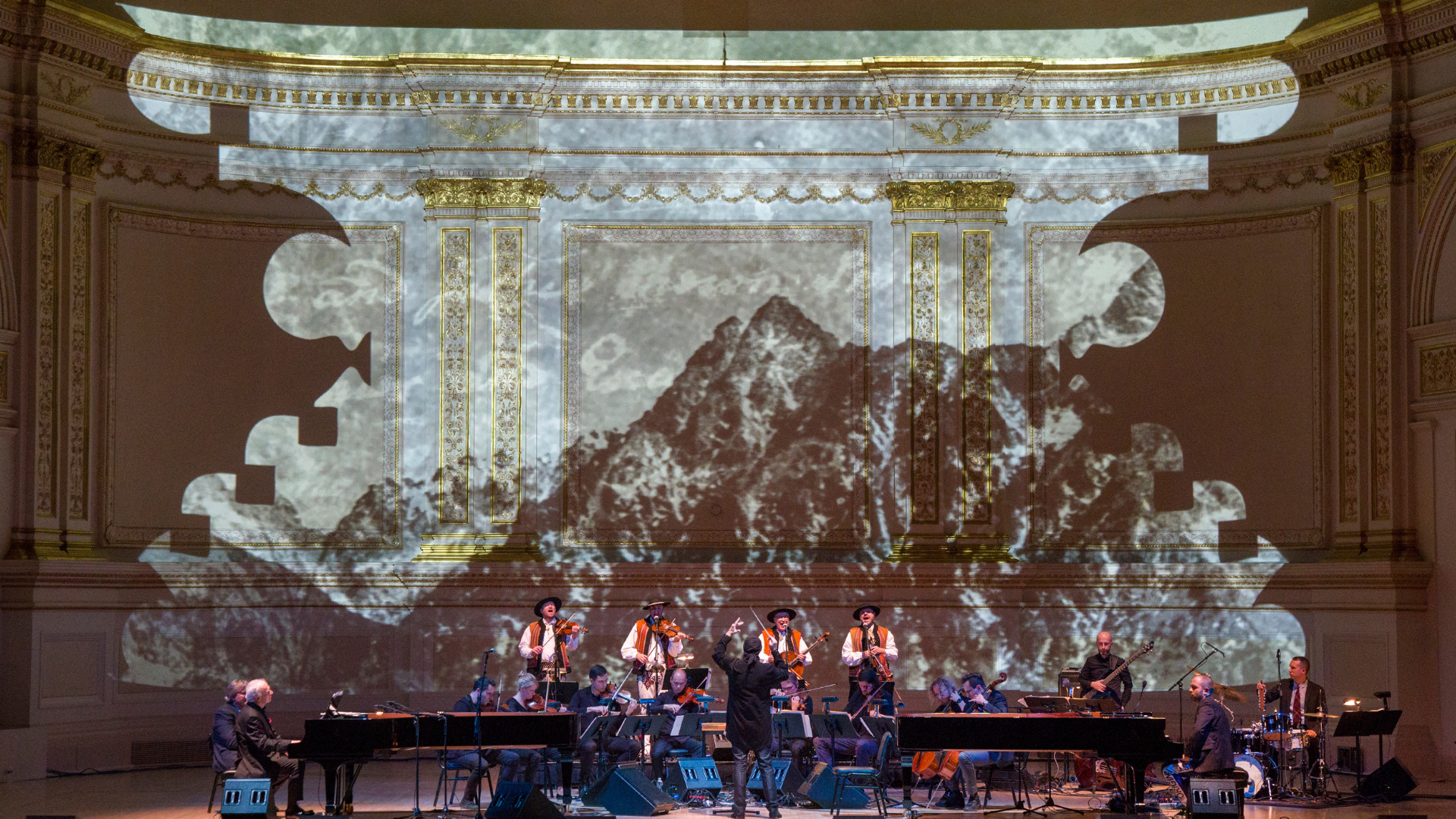 The Teatr Wielki - Polish National Opera's  Voices of the Mountains.  Photo by Richard Termine.