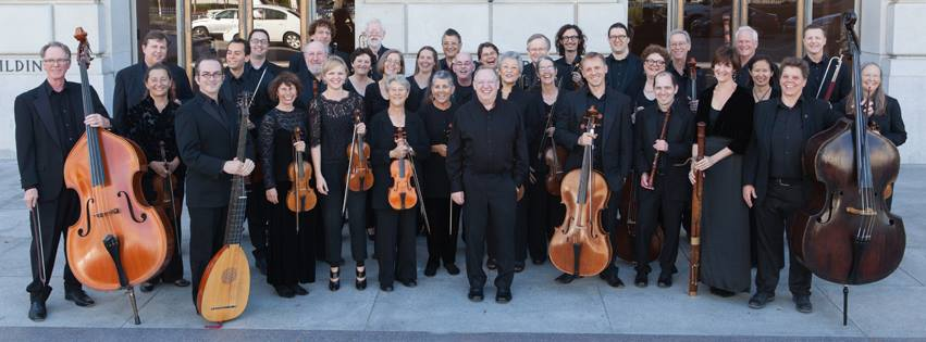Philharmonia Baroque Orchestra, led by conductor Nicholas McGegan