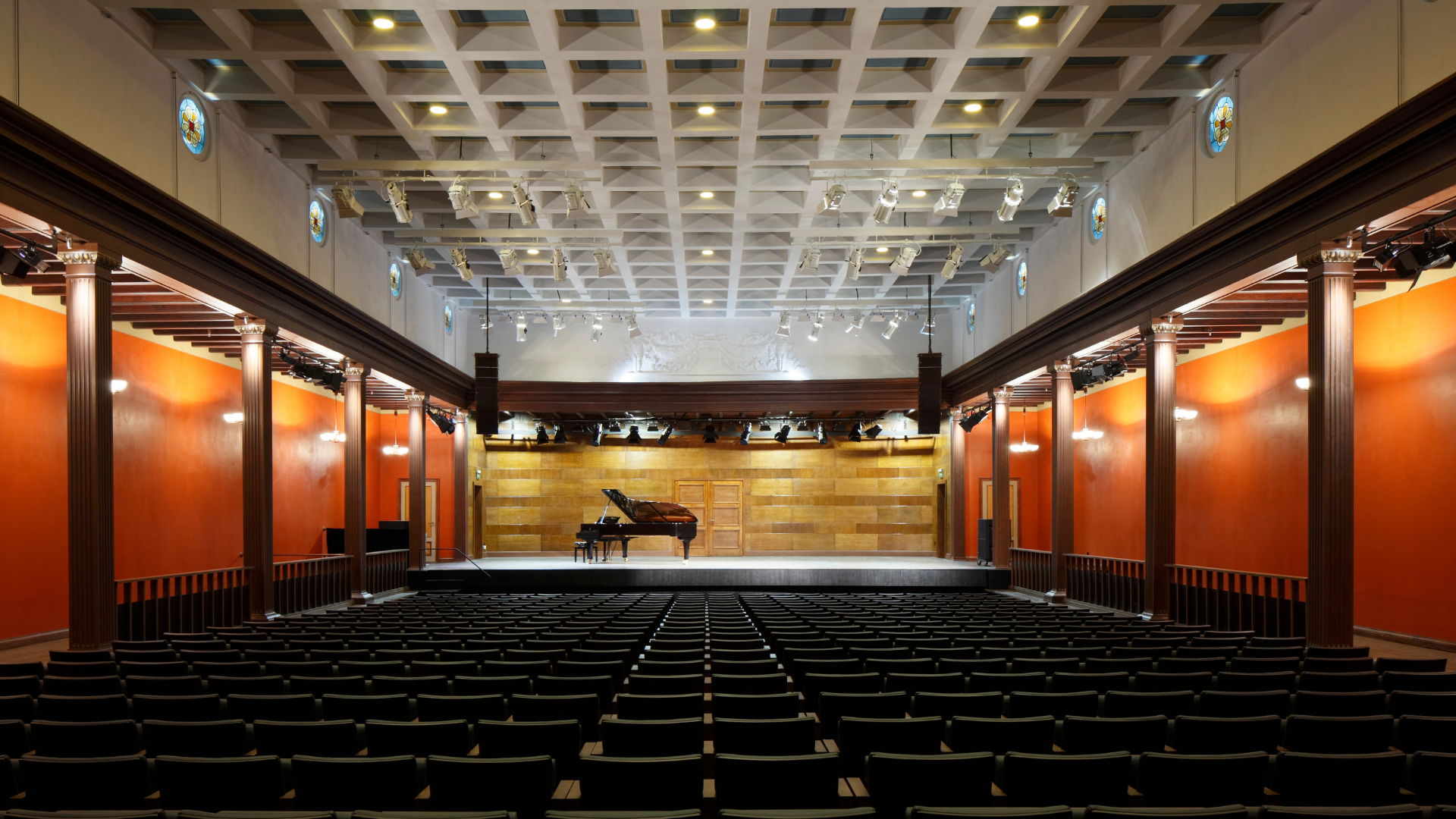 Dzintari Concert Hall is a unique concert stage near the Baltic Sea