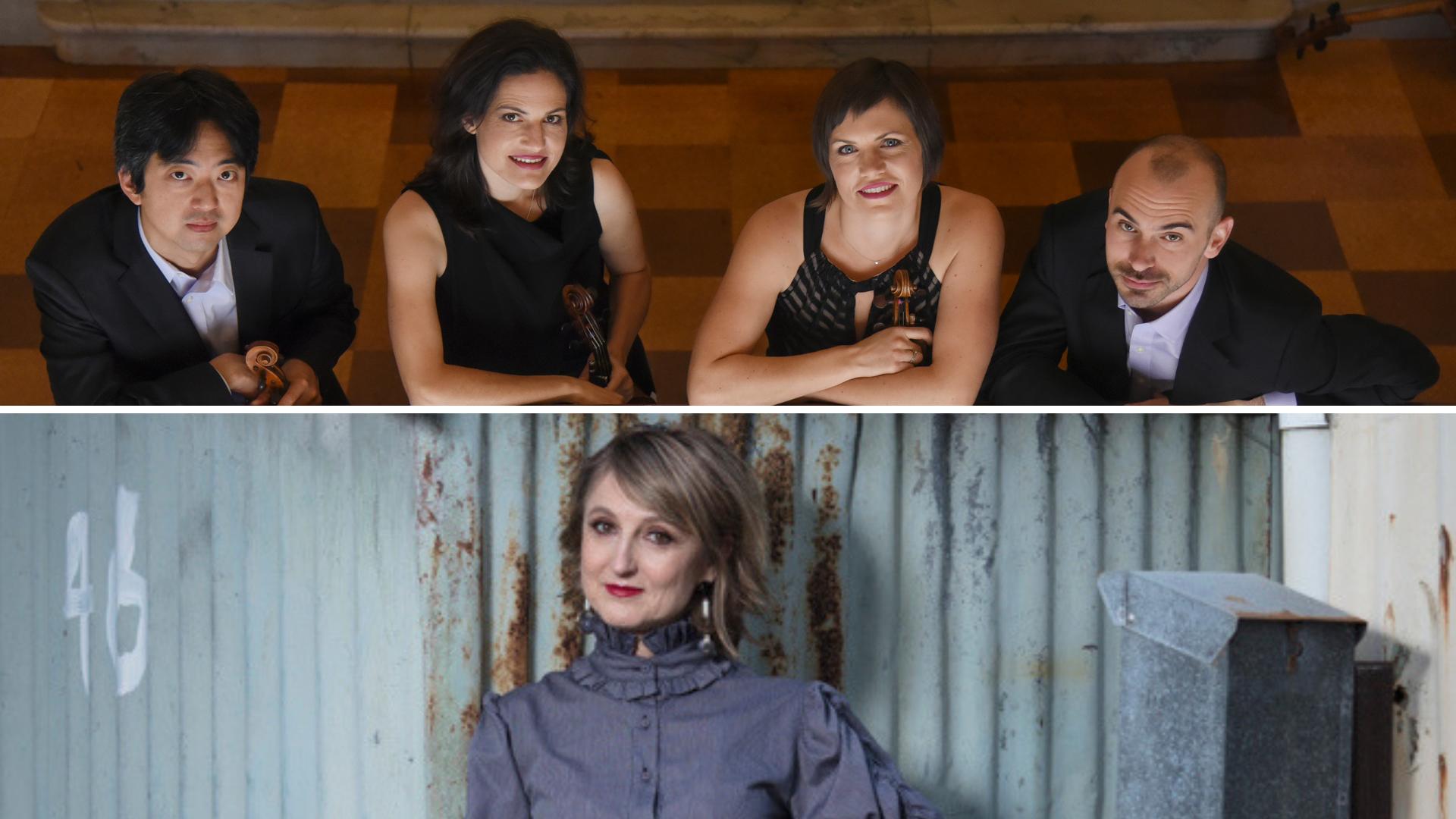 Jupiter Quartet; Bernadette Harvey