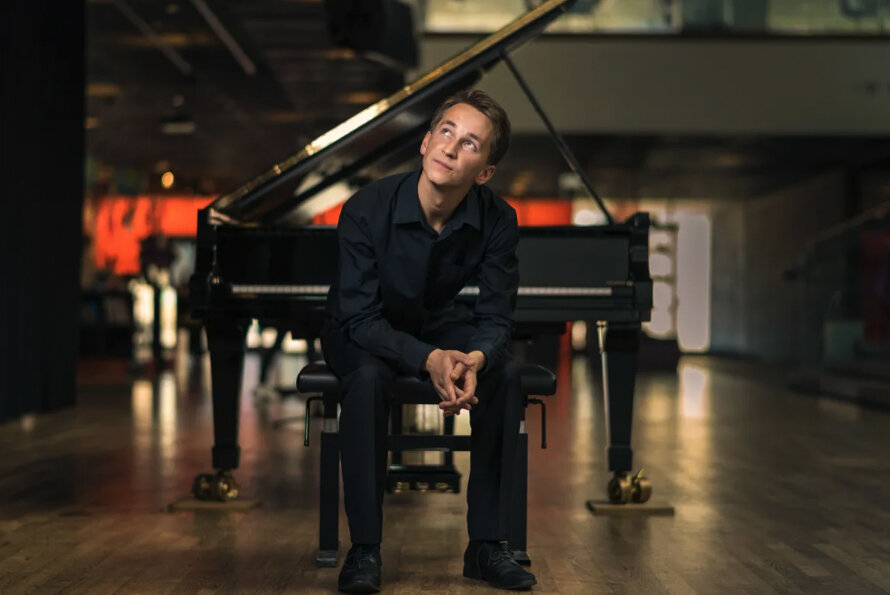 Pianist Daumants Liepins, Winner of the 2019 Vendome Prize at the Verbier Festival