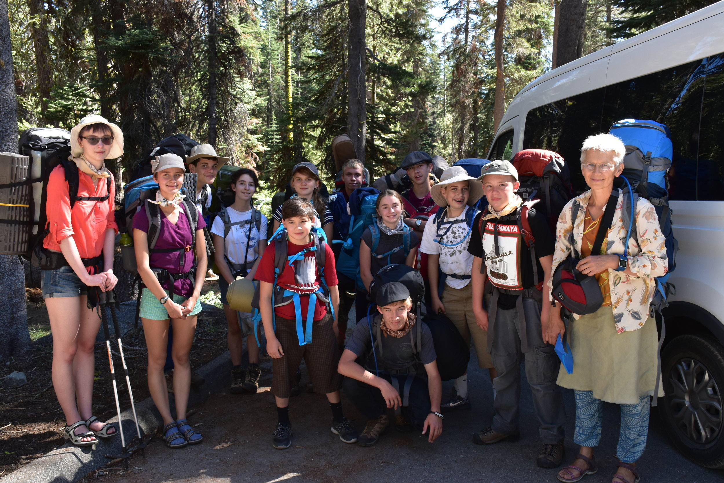 Backpacking Bear Lake, July 10-14