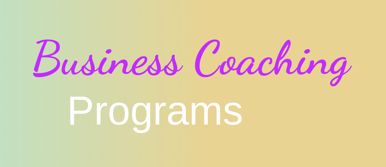 Business Coaching Programs