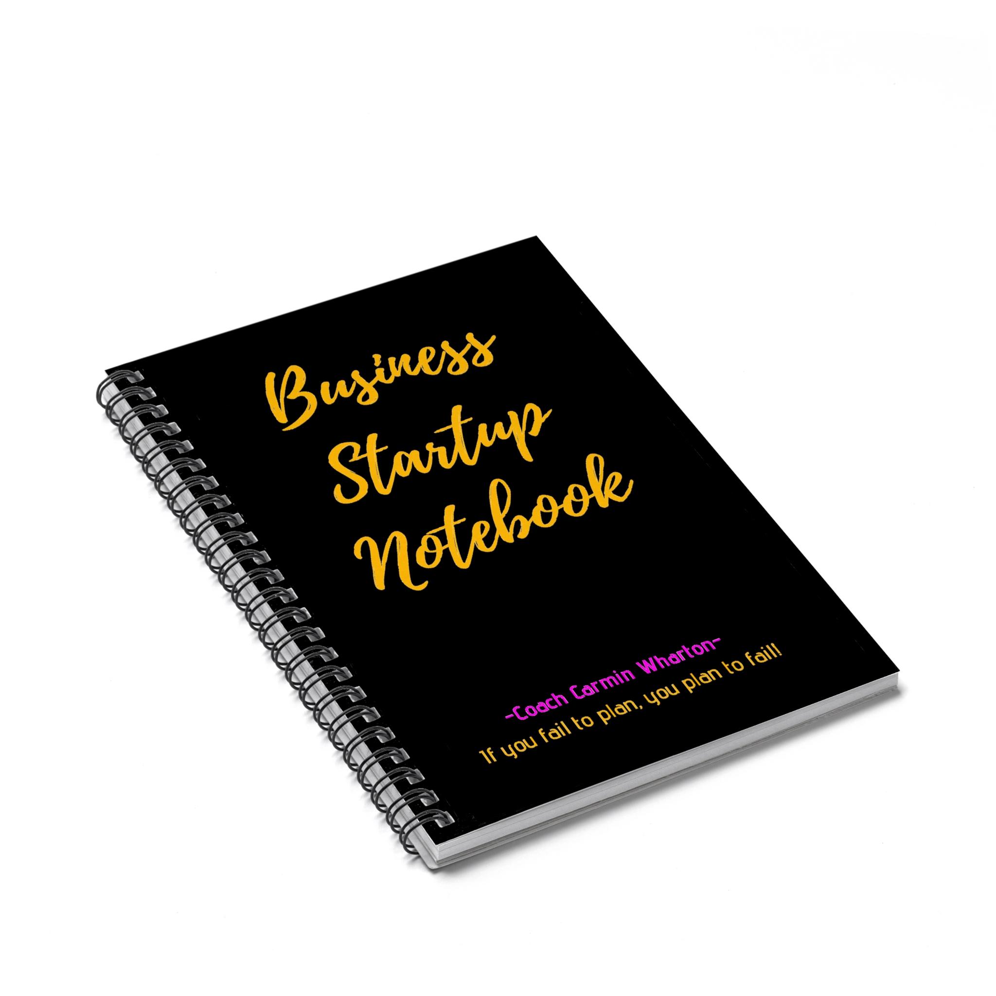Business Startup Notebook - $13.05 -