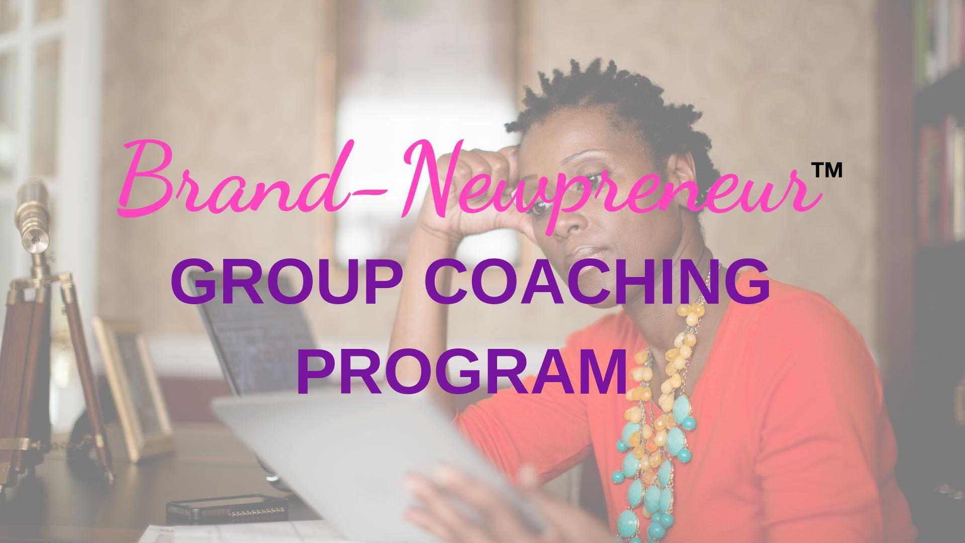 Brand-Newpreneur Group Coaching Program Black Woman holding an iPad looking perplexed.