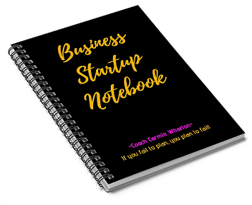 Picture of Business Startup Notebook