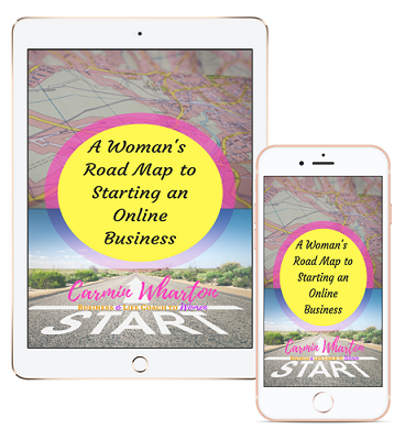 Picture of iPad and iPhone for A Woman's Road Map to Starting an Online Business