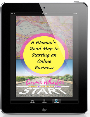 Woman's Road Map to Starting an Online Business