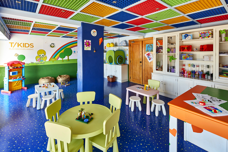 The resort also has a kids' recreational center.