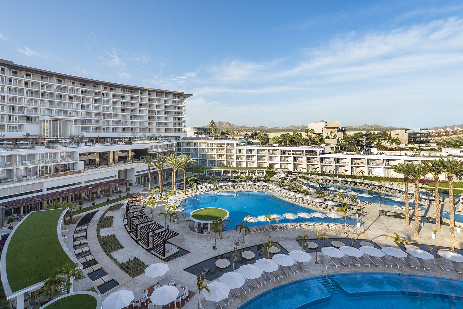The newly opened Le Blanc Spa Resort Los Cabos.