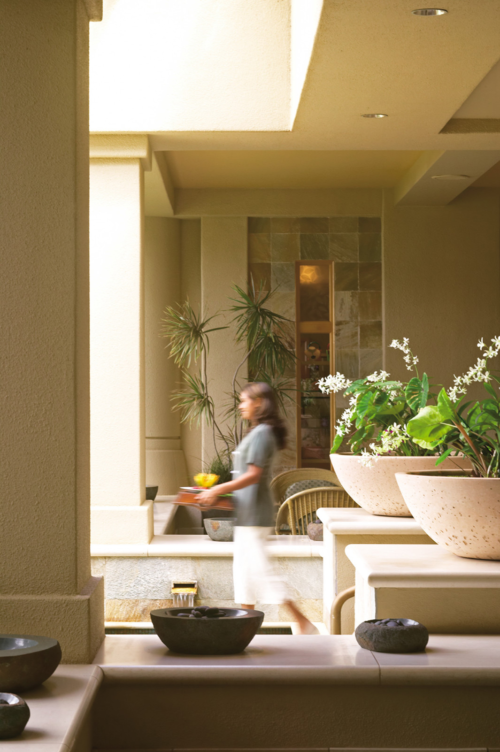 The Spa at Four Seasons Resort Maui at Wailea is a sanctuary of natural beauty and serenity.