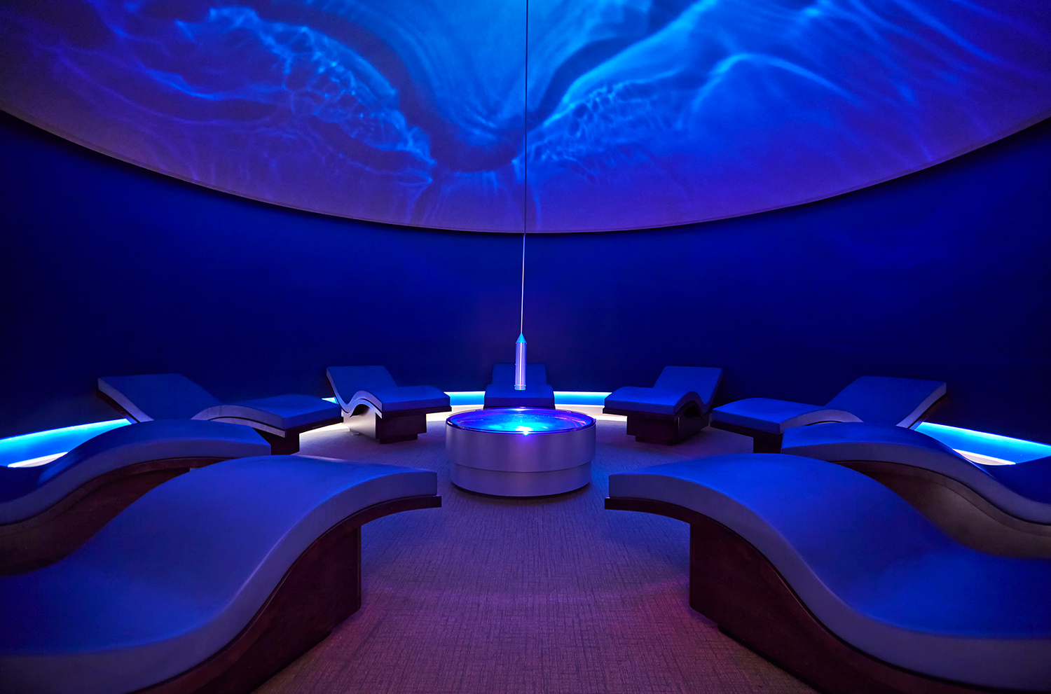 The Wave Room at Canyon Ranch Spa Club in Las Vegas.