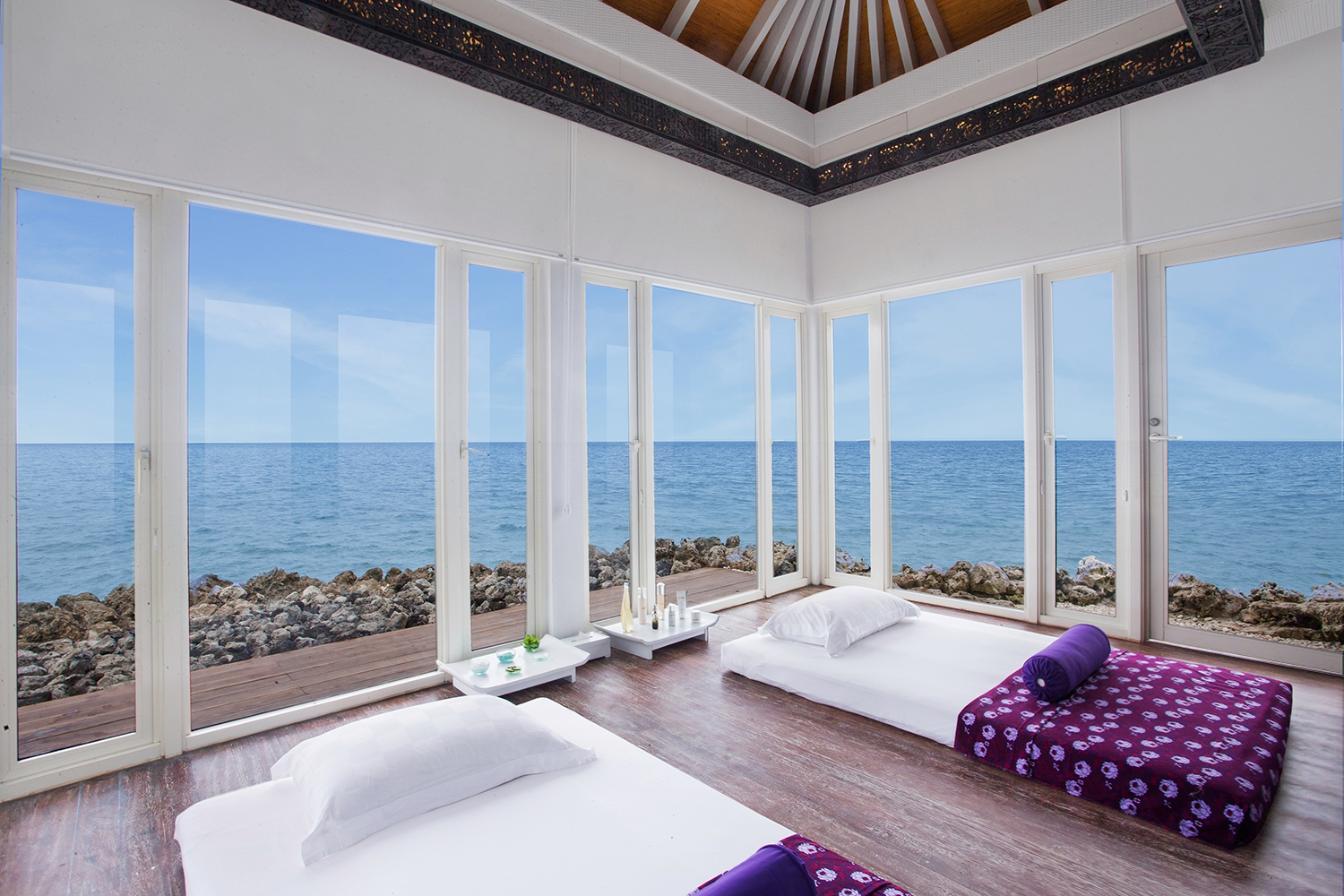 Treatment views at the Ayana Resort and Spa in Bali.