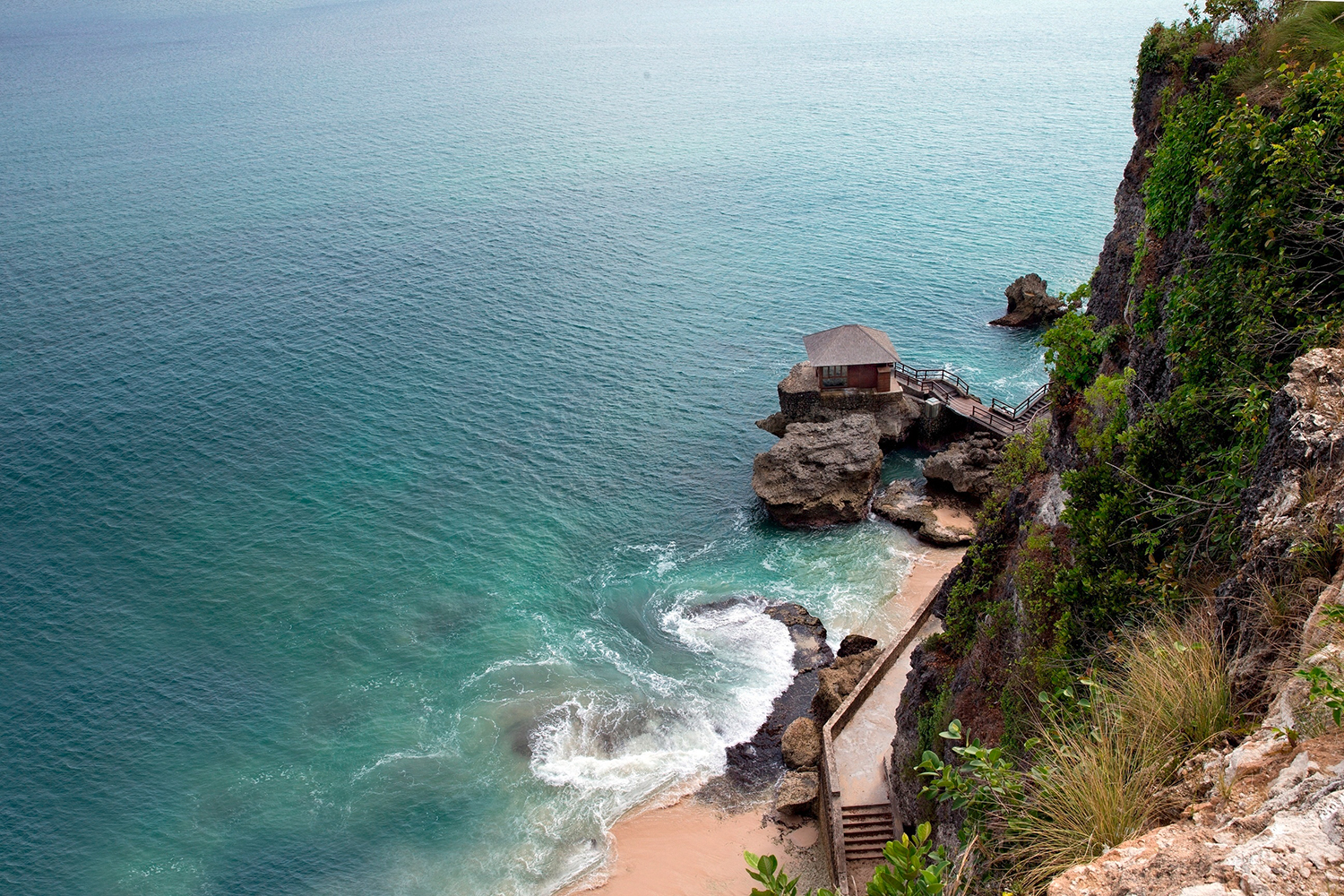 The view from Spa on The Rocks at Ayana Resort and Spa in Bali.
